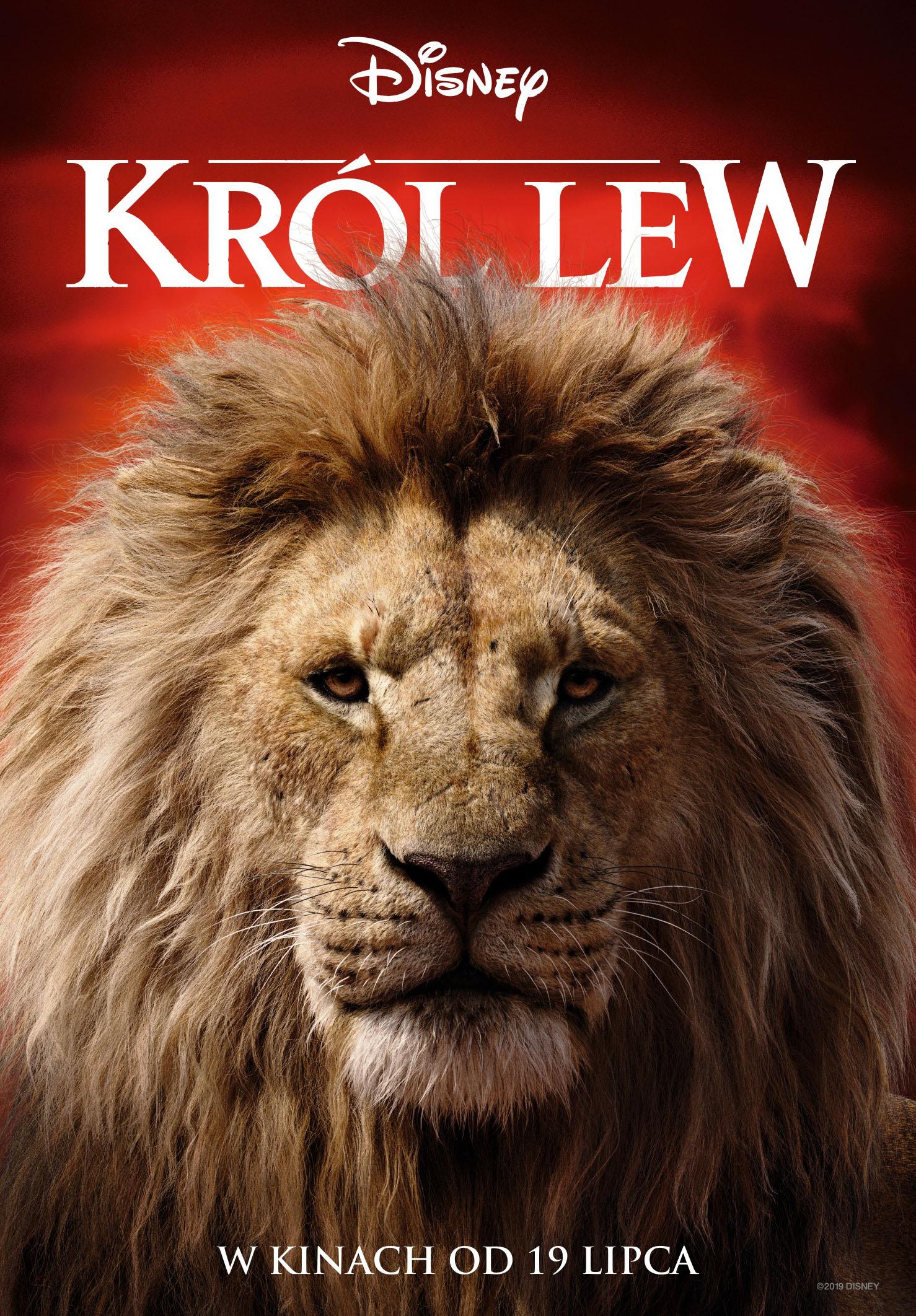 Mufasa król, lew